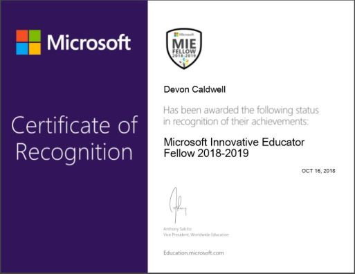 miee certificate